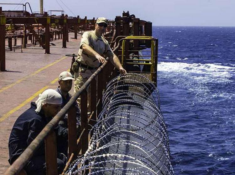 """Sistema de protección de los buques """"Antipirata"""""""