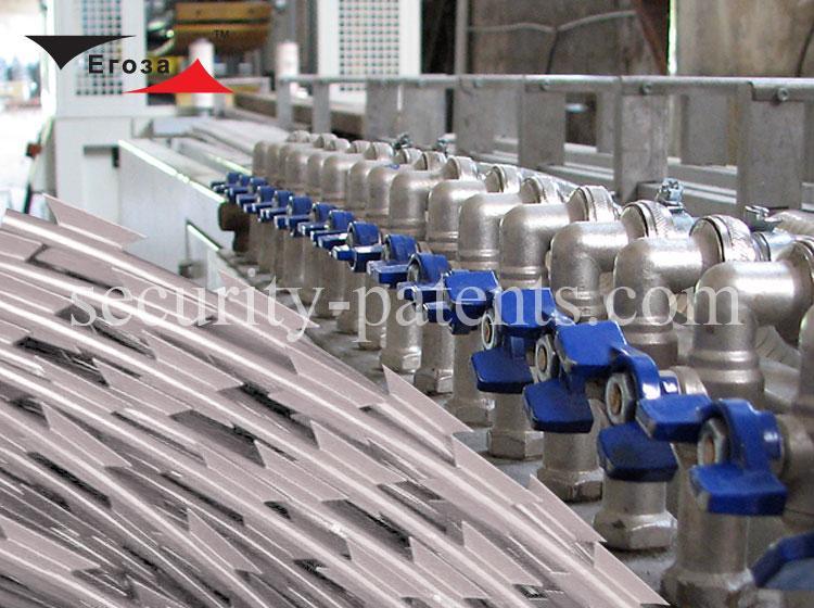 Производство композитной колючей проволоки Егоза